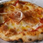 Pizza margherita con impasto 60% idro