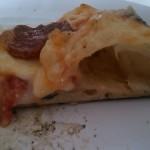 Cornicione pizza con impasto 60% idro